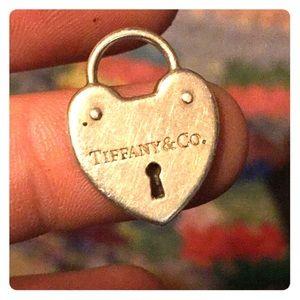 Tiffany and Co. heart pendant Charm